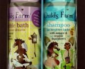 childs farm shampoo and bubble bath